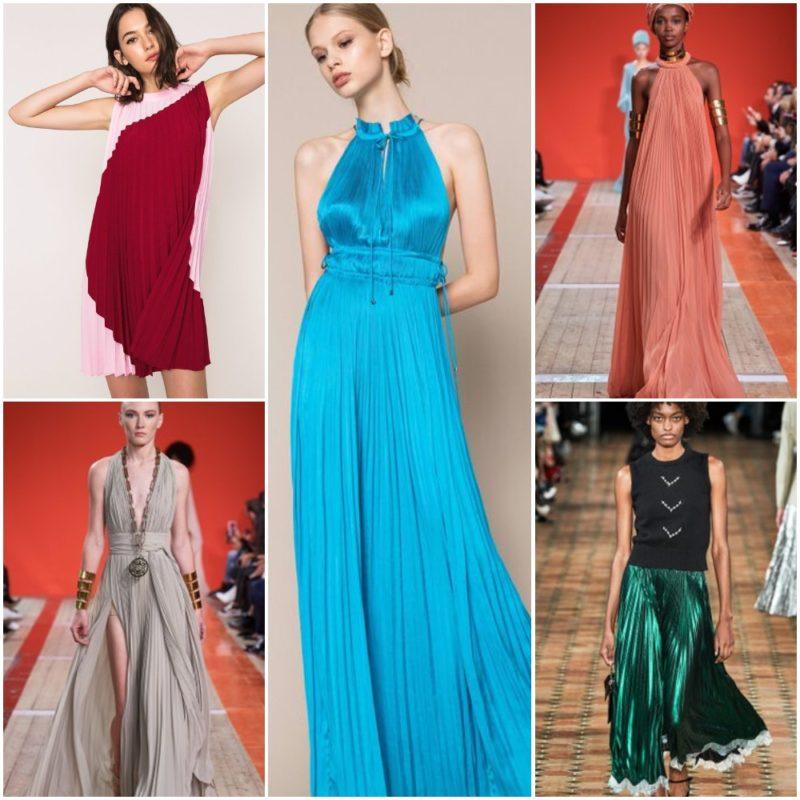 Vestidos y faldas plisadas Ropa Moda noche fiesta 2021