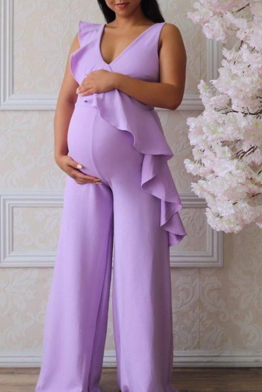 enterizo de fiesta para embarazadas