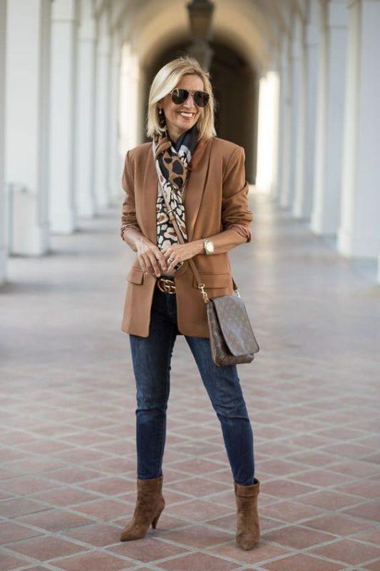 look casual elegante con jeans para señoras