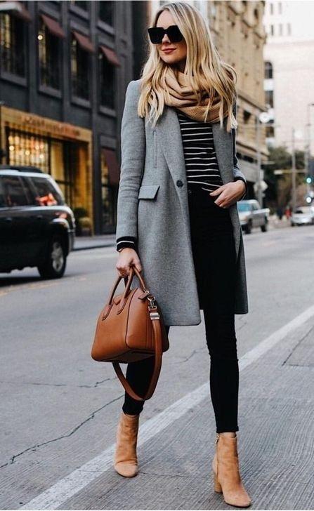 look casual elegante con jeans