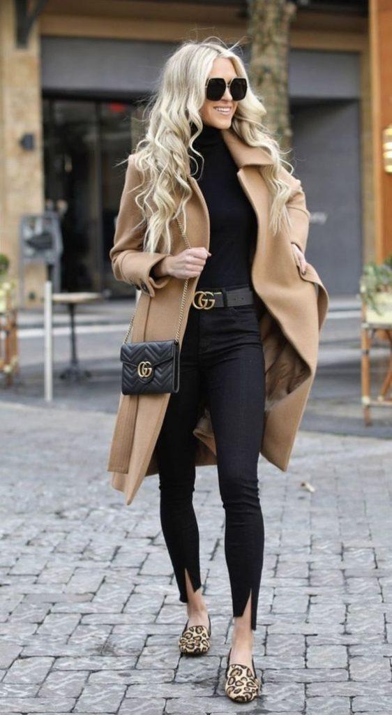 outfit para cena informal de invierno