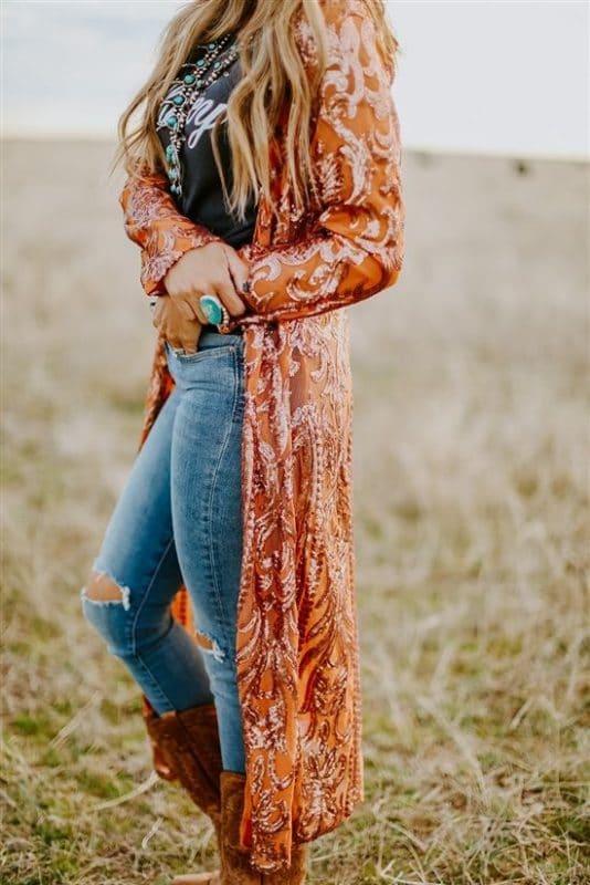 outfit para ir a un concierto country