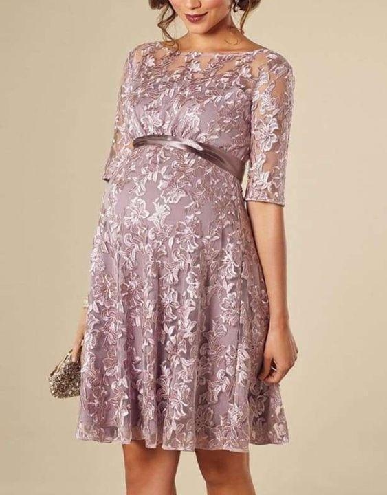 vestido de fiesta cortos para embarazadas