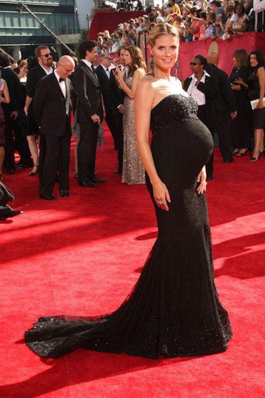 vestido largo para fiestas para embarazadas