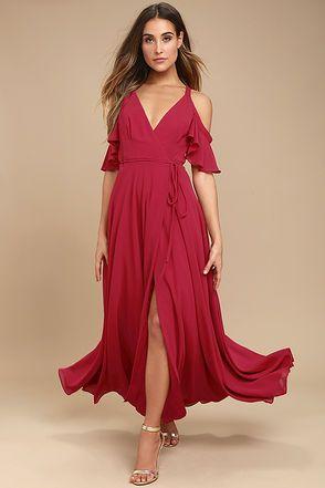 vestido para boda semi informal