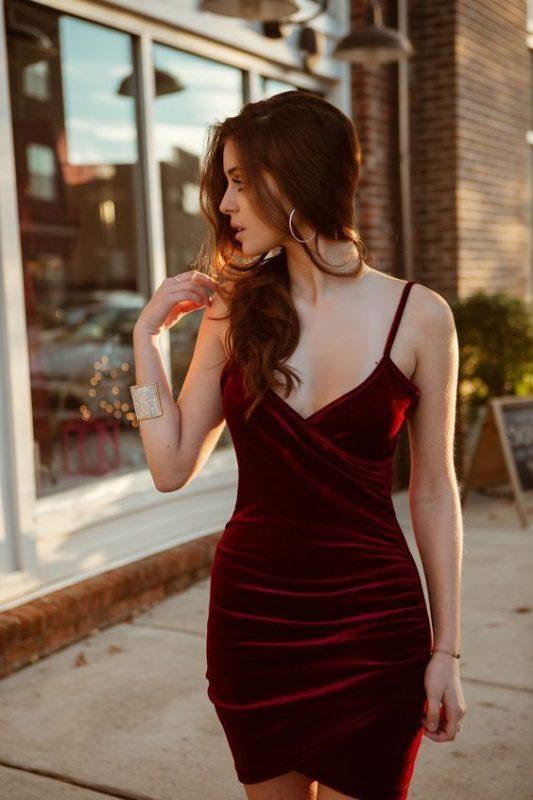 vestido para noche de jazz