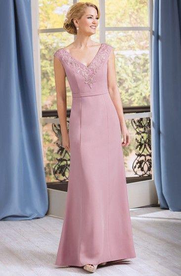 vestido rosa fiesta formal