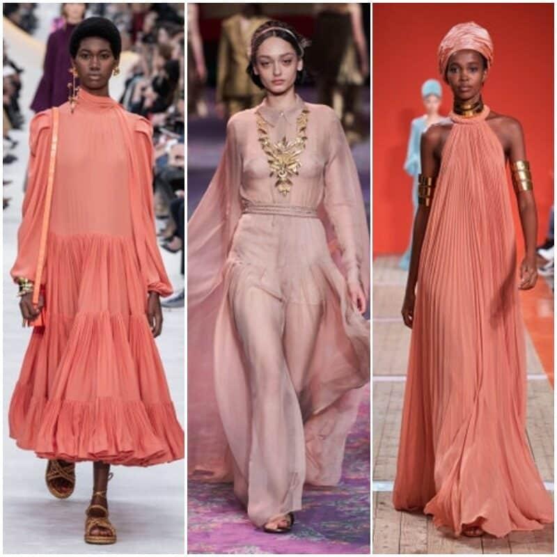 Vestidos de fiesta rosa coral suave 2021 1