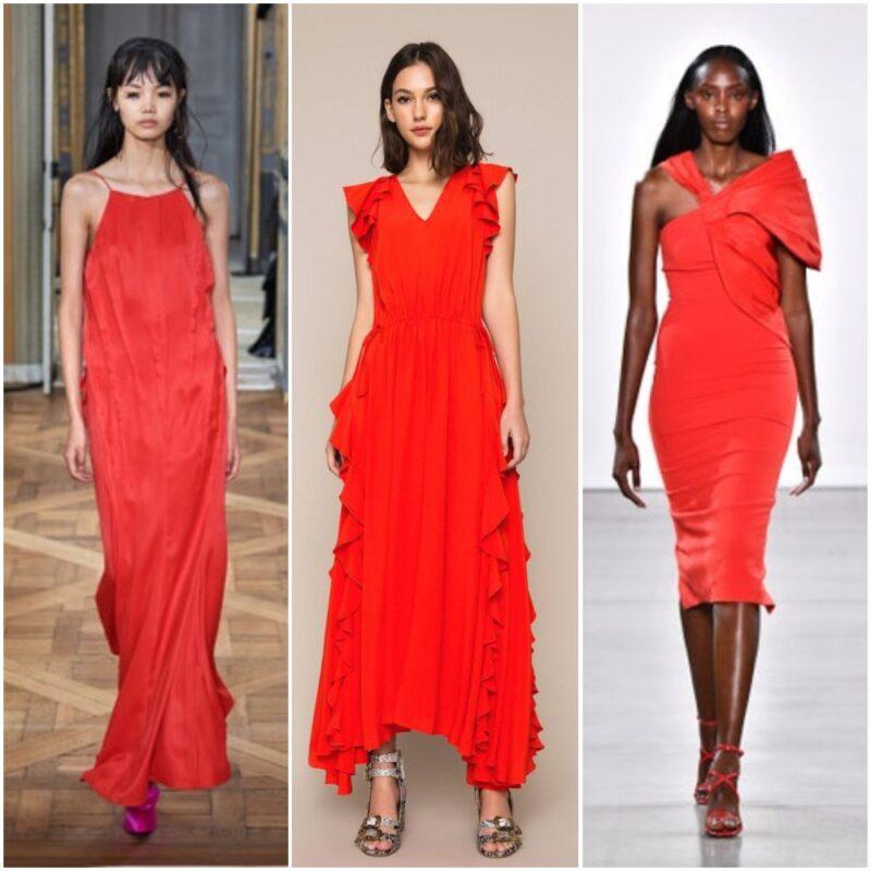 Vestidos rojo fuedo 2021