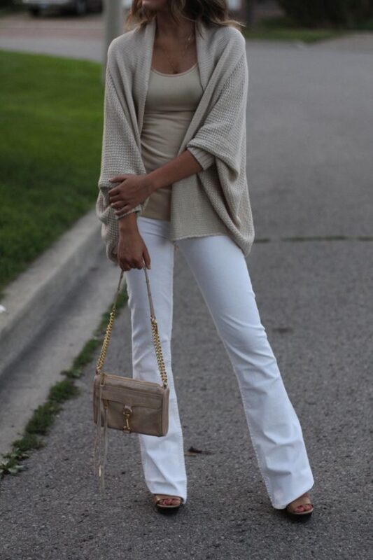 jeans oxford blanco