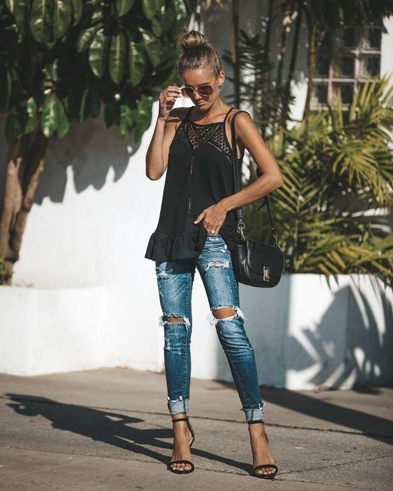 noche verano jeans