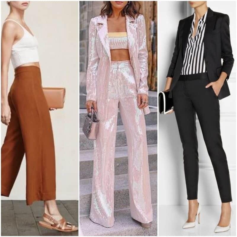 Looks de noche en pantalones para mujer