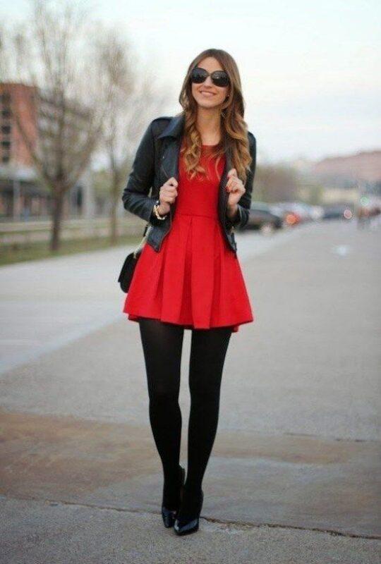 mini vestido cumple noche invierno