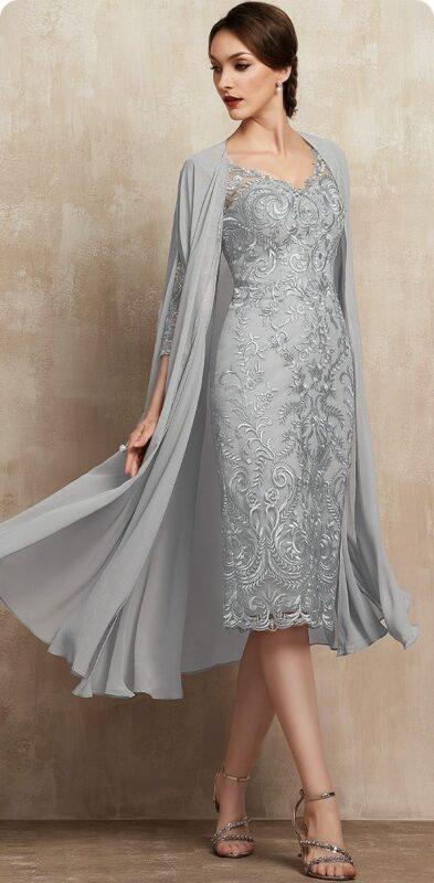 capa formal liviana para vestido de fiesta