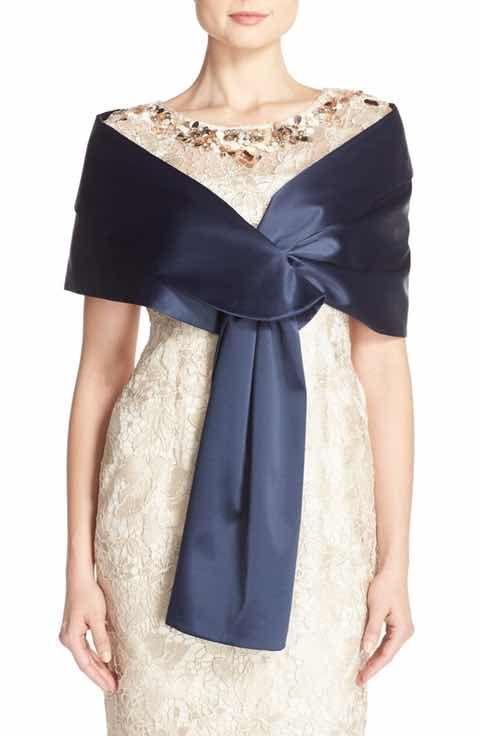 cobertor para vestidos de fiesta de seda