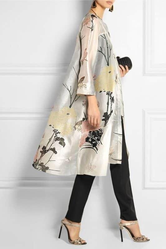 kimono para noche de fiesta