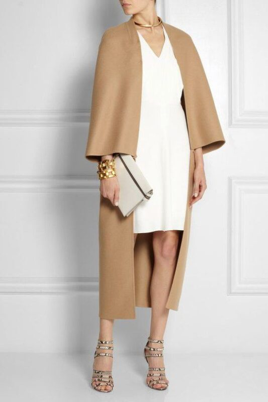 tapado moderno para vestido
