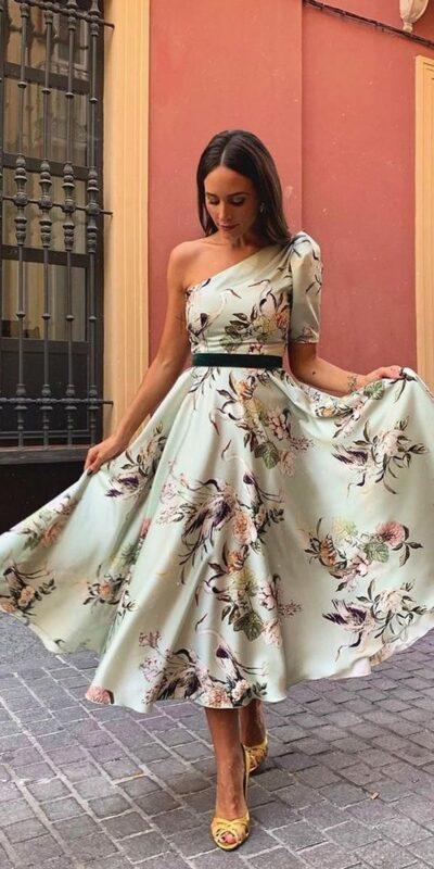 vestidos para una fiesta de noche al aire libre